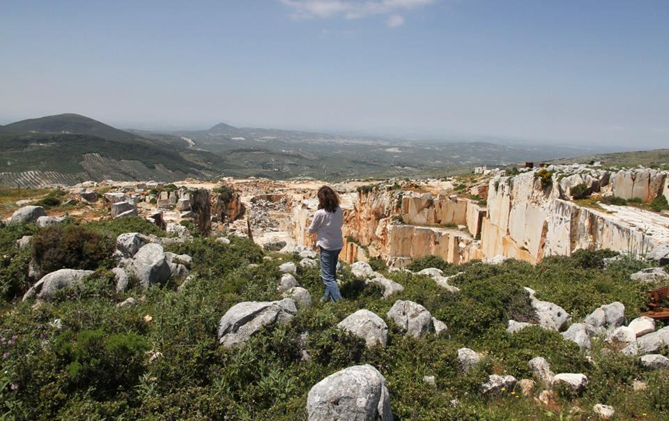 Visita a las canteras donde se extrajo la piedra para construir Medina Azahara.