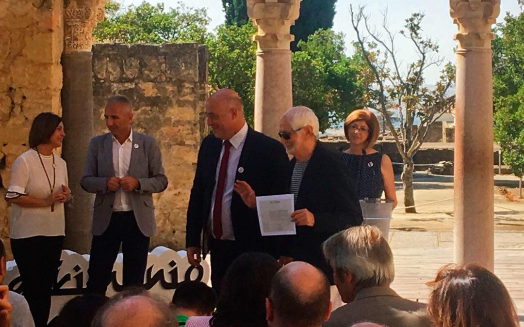 Amigos de Medina Azahara, distinguida por su apoyo a la candidatura a Patrimonio de la Humanidad