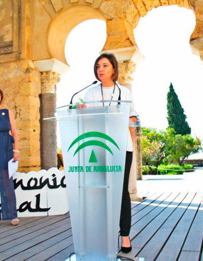 Intervención de la alcaldesa de Córdoba, Isabel Ambrosio