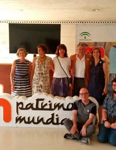 Amigos de Medina Azahara en la celebración Patrimonio de la Humanidad