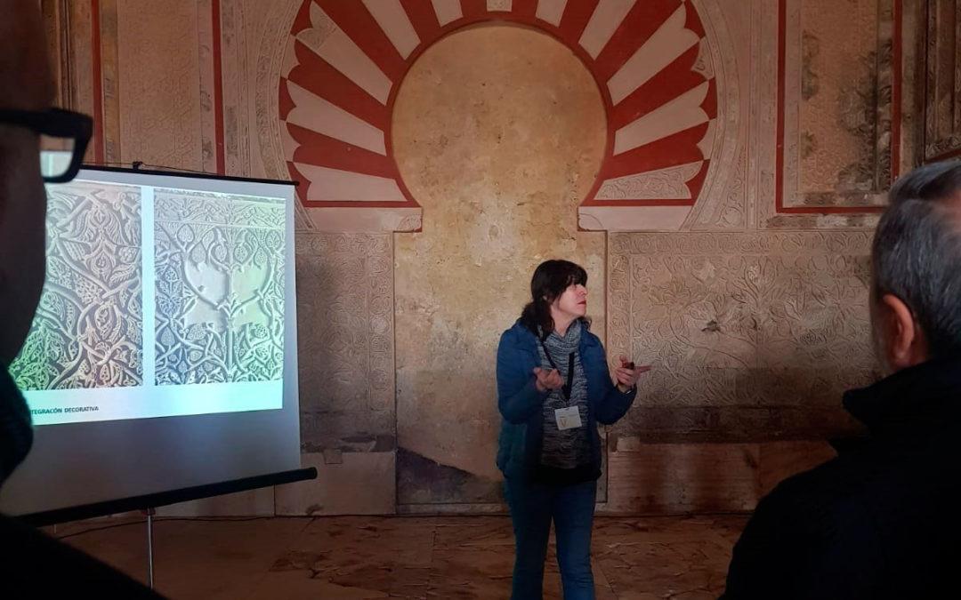Visita guiada por la arqueóloga Ana Zamorano al Salón Rico de Medina Azahara