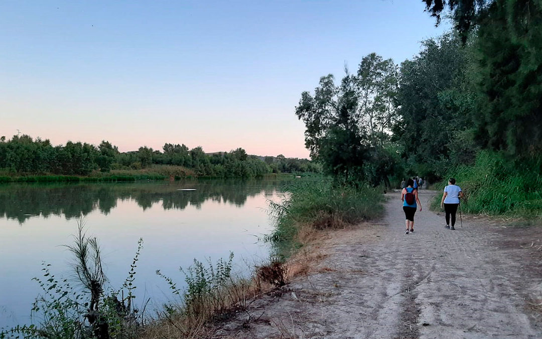 Paseo por la ribera del Guadalquivir. El camino de las almunias.