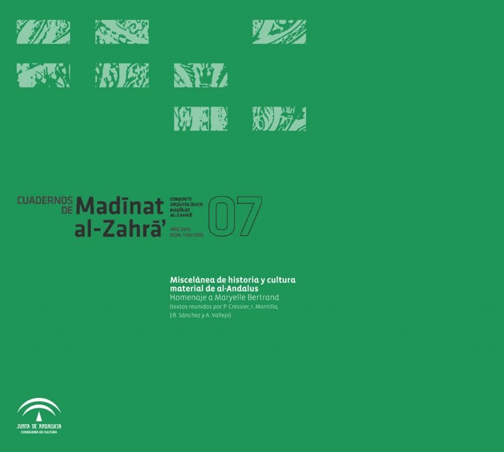 Cuaderno de Madinat al-Zahra nº 7
