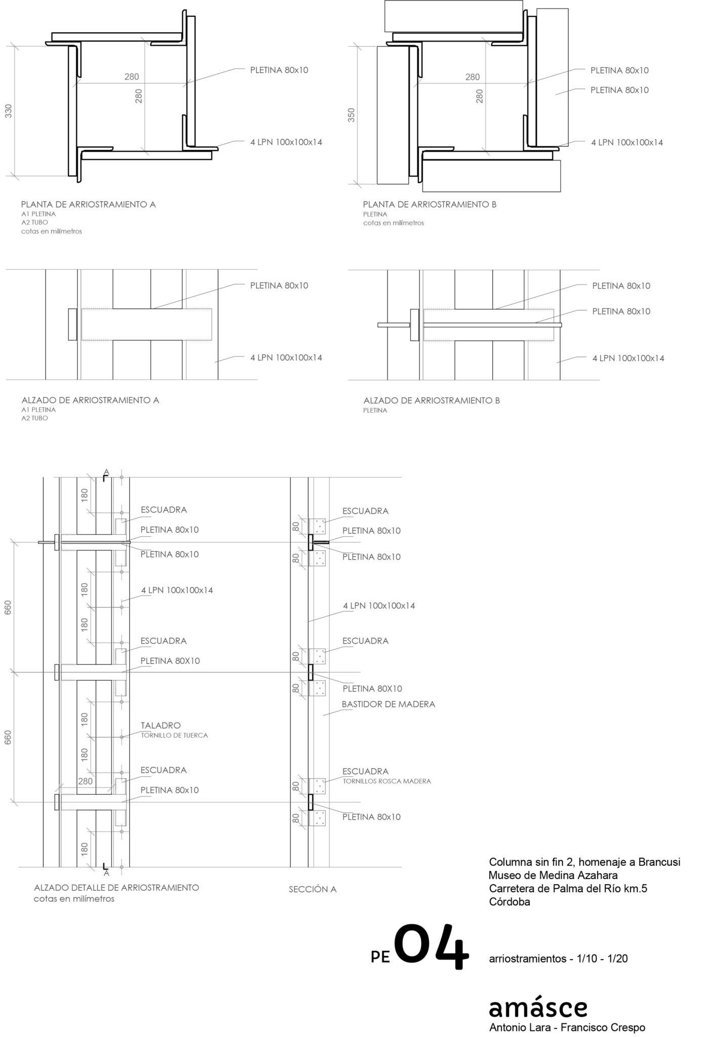 Homenaje a Brancusi. / Proyecto presentado por estudio amásce