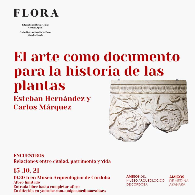 El arte como documento para la historia de las plantas